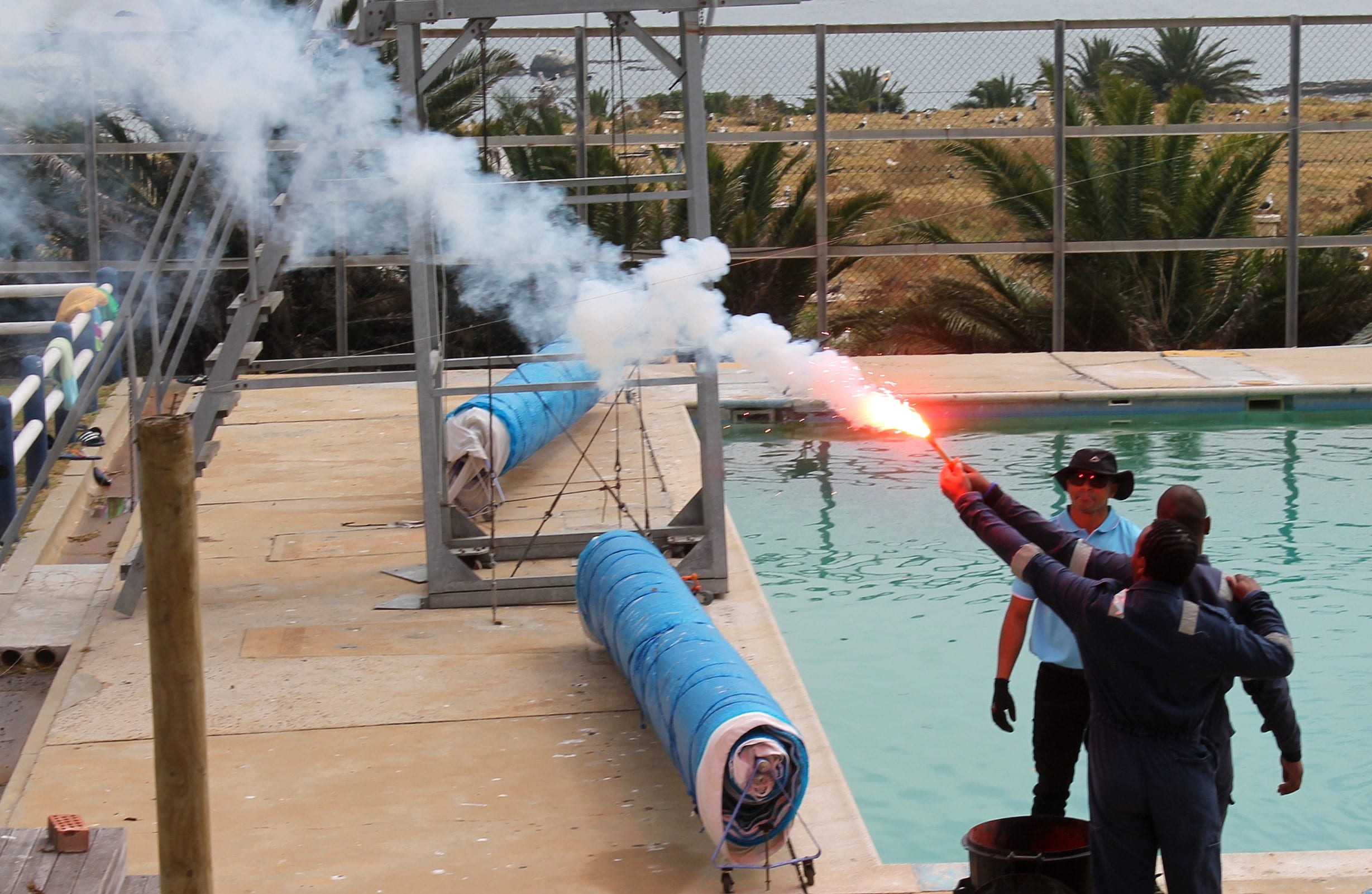 Fire Fighting Courses at SAMTRA Cruise