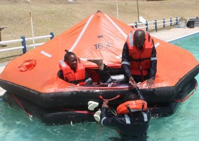 Safety at Sea courses at SAMTRA Cruise